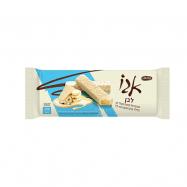 אצבעות וופל מצופות שוקולד לבן במילוי קרם בטעם אגוזי לוז