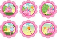prinsess-sticker